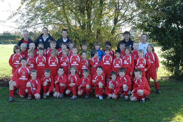 ENTIRE 8S AND 10S SQUAD 2006-2007