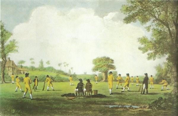 1760 English cricket season
