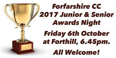 Awards Night - Friday 6th October