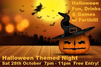 Halloween Themed Night - Saturday 28th October