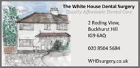 Quality Affordable Dental Care at the White House Dental Surgery.    020 8504 5684