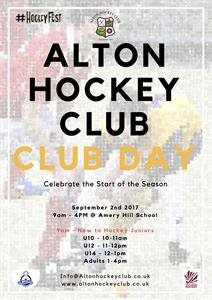 Club Day - 2nd September 2017