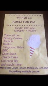 Pinner CC Fun Day 30th July 2017