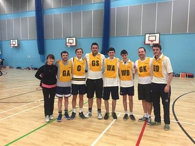 Leadgate CC in Charity Netball Tournament
