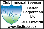 Barton Corporation Ltd - Club Sponsor