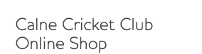 Calne cc merchandise shop