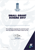 Small Grant Approval