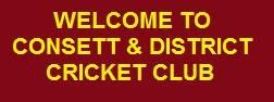 Welcome to Consett Cricket Club