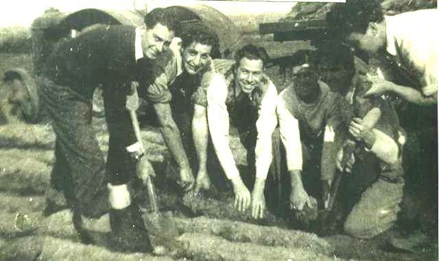 Rex Beard, George Porter, David Kettle, Reg Ralph and others.
