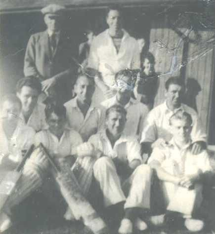 First ever club XI in 1948