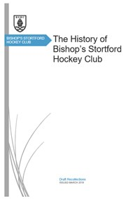 The History of Bishop's Stortford Hockey Club paper
