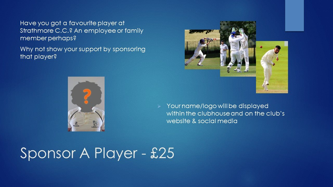 Player Sponsor