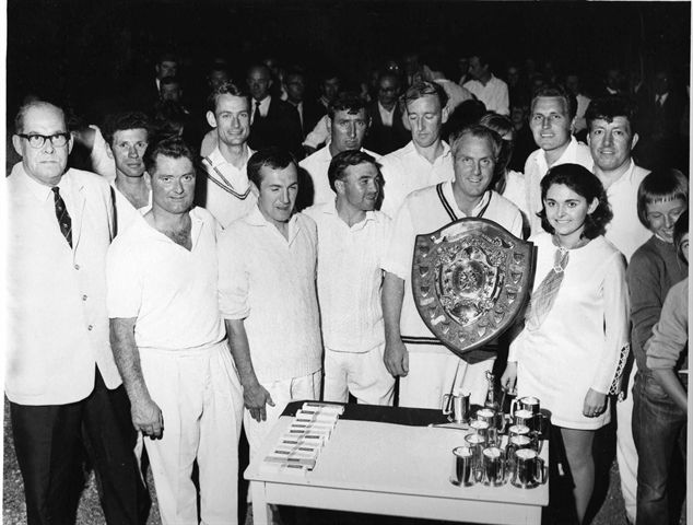 winners of the morse shield at the county ground , swindon