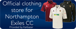Northampton Exiles Cricket Club Shop