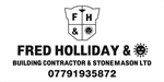 Fred Holliday & Son Building Contractor and Stonemason